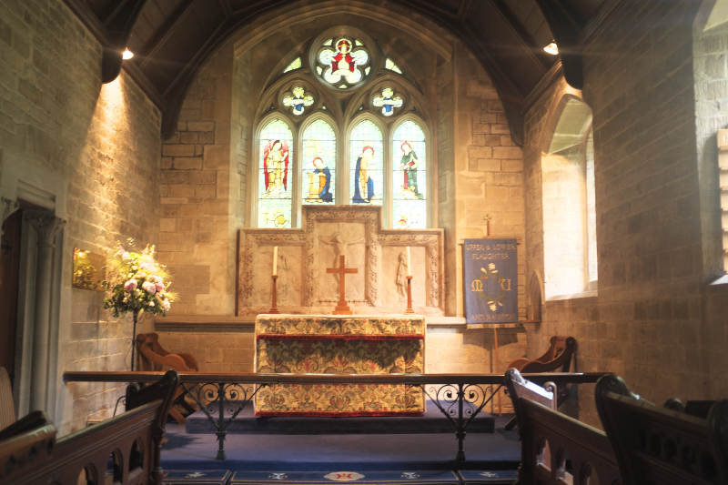 St.Mary's Church in Lower Slaughter