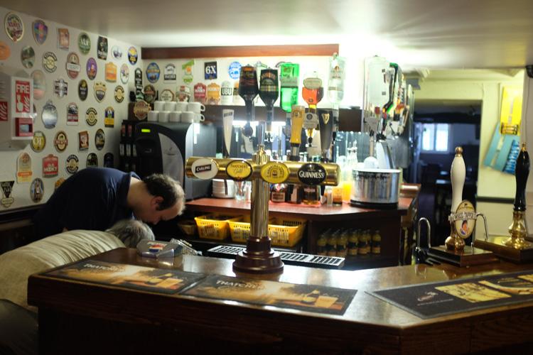 The Navigation Inn counter