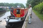 予約したナローボート「Narrowboat Guide」の「At Ease」号について