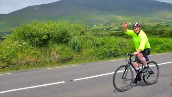 Cyclist Ring of Kerry
