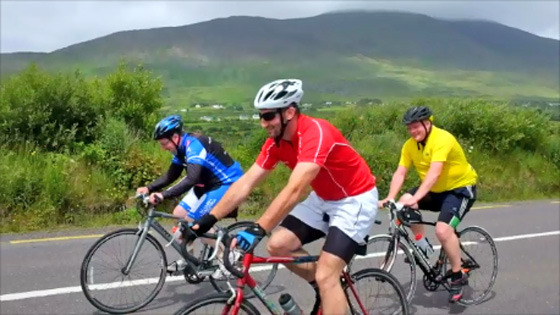Cyclists Ring of Kerry