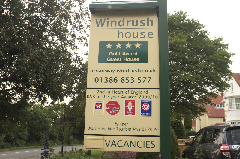Windrush house signboard