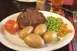 Crown and Trumpet Inn Steak