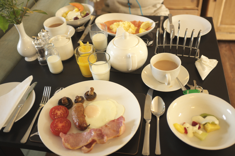 Windrush House Breakfast