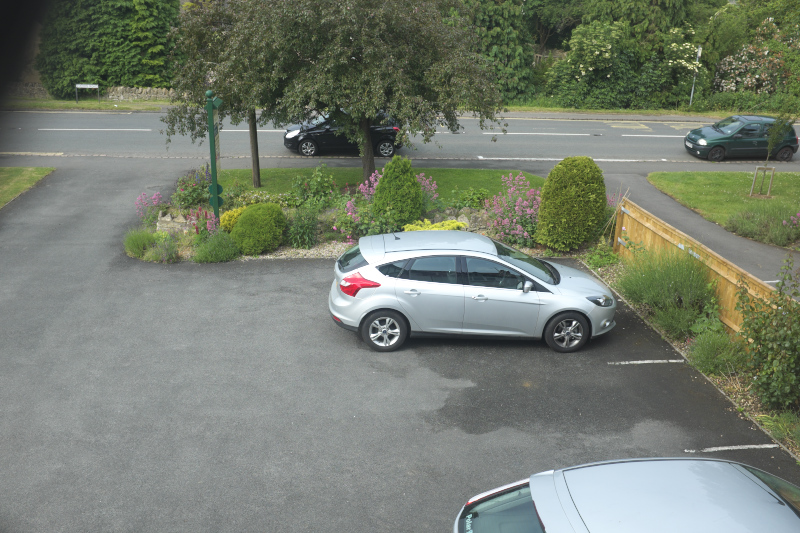 Windrush house Parking area