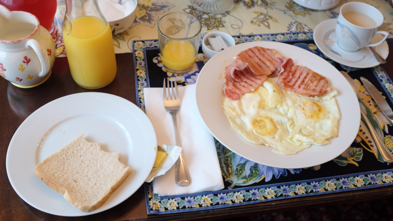 Bay Tree House B&B Breakfast