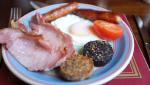アイルランド コーク市のB&B Auburn Houseの朝食