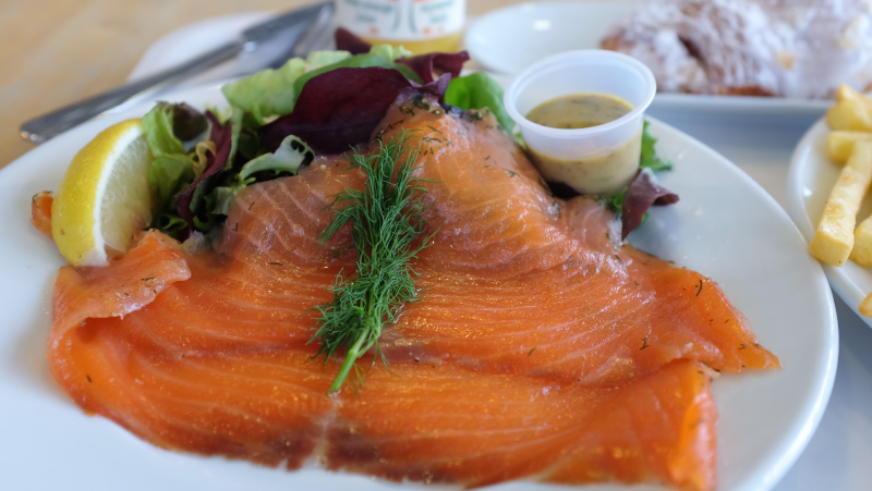 IKEA Wembley Smoked salmon