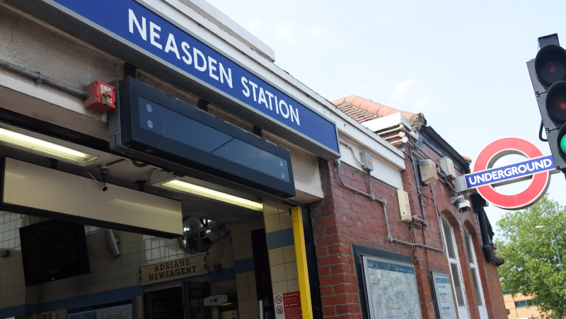 Neasden Station
