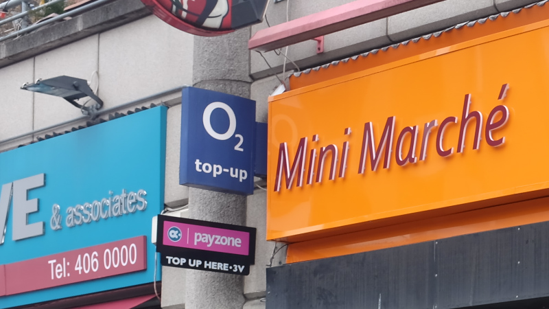 Dublin O2 Top Up
