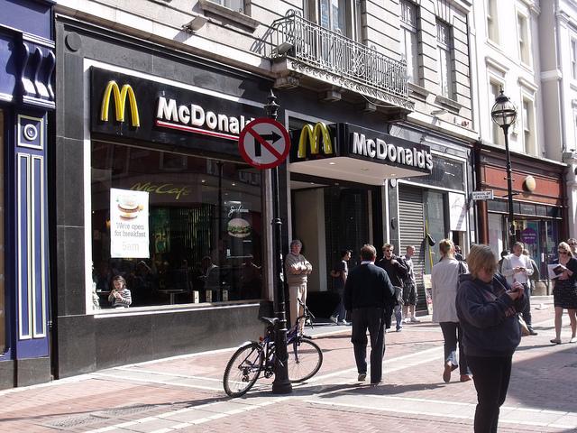 ダブリンのマクドナルド McDonalds Dublin