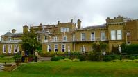 クイーン・エリザベスクルーズの下船後、サウサンプトンのマナーハウスホテル 「Best Western Chilworth  Manor 」を予約しました。