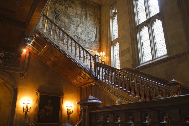 ハイクレア城 大階段