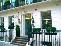 ロンドンでは「Lime Tree Hotel ライムツリー・ホテル」を予約しました。