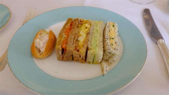 フォートナム・メイソン アフタヌーンティー サンドイッチ