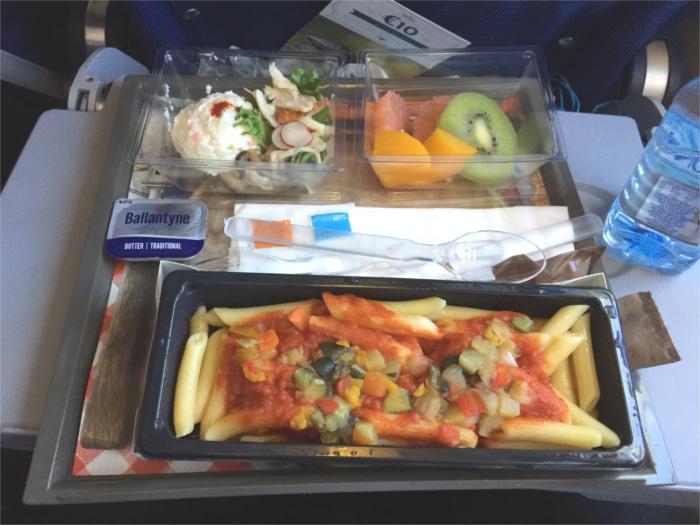KLMオランダ航空 機内食